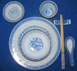 Chinese Meal place setting