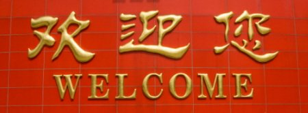 Welcome Chinese Sign