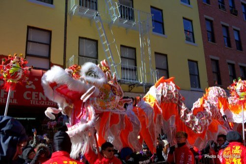 NYC Chinatown Lunar New Year Parade