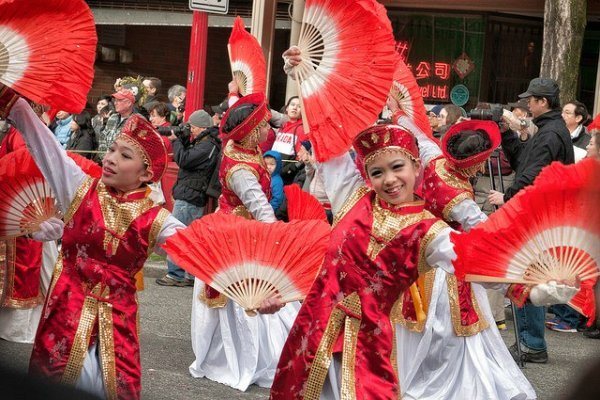 Chinese New Year Parade in Vancouver