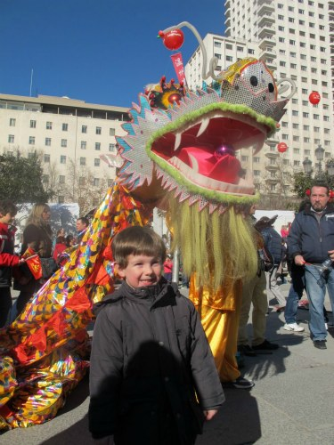 Chinese New Year in Madrid