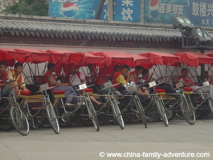 Beijing Hutongs Rickshaws