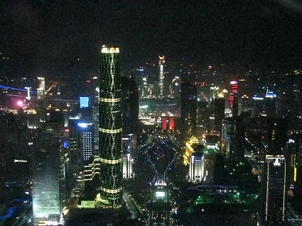 Guangzhou Canton Tower Night