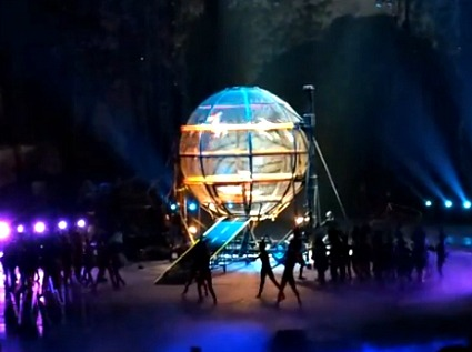 Chimelong International Circus Ball of Death