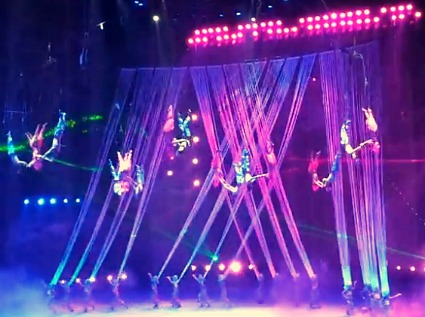 Chimelong International Circus Flying Acts
