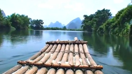 Rafting in the Yulong River