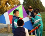 Flying Kites at the Temple of Heaven