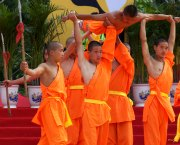 Shaolin performing Kung Fu Show in Beijing