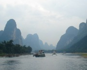 Li River Cruise Karst Mountains