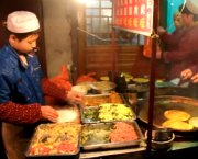 Street Food Vendors at Xian Muslim Quarter