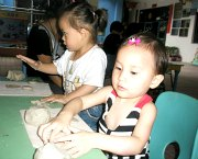 Pottery Making with children