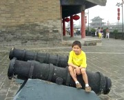 Xian City Wall Cannons