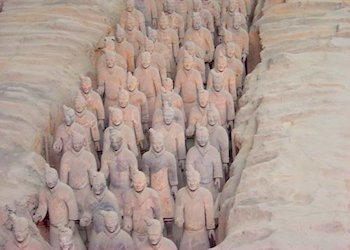 Army of Terracotta Warriors in Xian