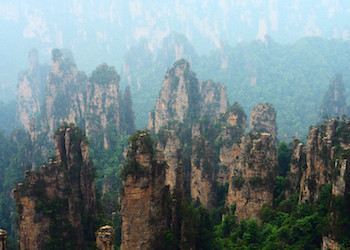 Chinese Mountains: Zhangjiajie