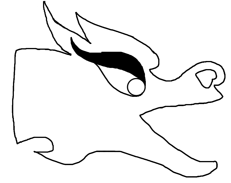 chinese dragon face template.html