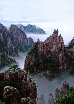 Chinese Mountains - Huangshan