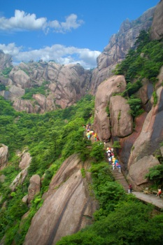 Chinese Mountains Huangshan