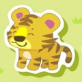 Chinese New Year Animals: Tiger