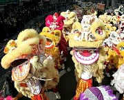 Lion Dance in Hong Kong