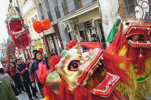 Chinese New Year Traditional Kung Fu Performances in Madrid