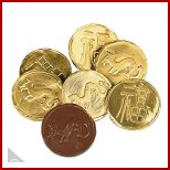 Chinese Chocolate Gold Coins