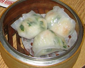 Dim Sum Types: Shrimp and Chive Dumplings