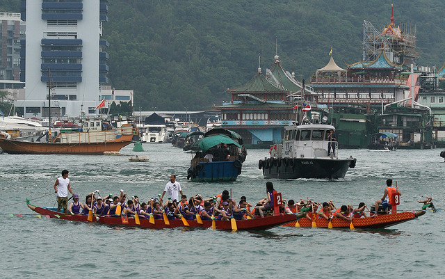 Chinese Dragon Boat Festival Hong Kong