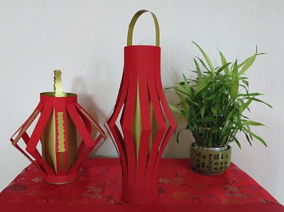 How to make chinese lanterns for How to make paper lanterns easy