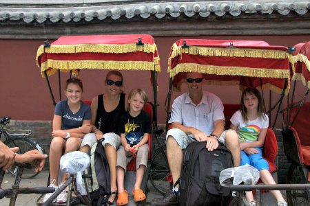 Rickshaw Rides in the Beijing Hutongs