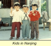 First Trip to China, Chinese children