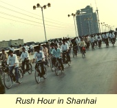 First Trip to China, Shanghai Rush Hour
