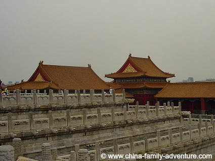 Temples and Halls at the Forbidden City