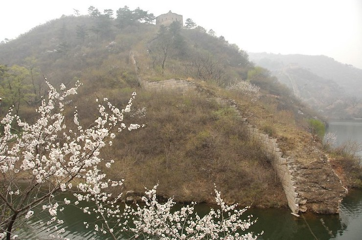 Great Wall of China Huanghuacheng Submerged Section