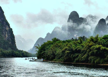 Guilin Mountain Scenery