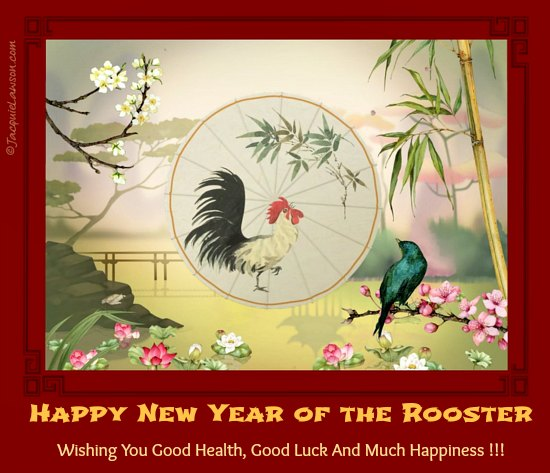 Happy New Year of the Rooster
