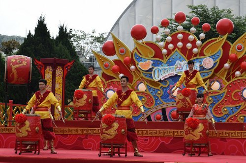 New Year Performances at Ocean Park