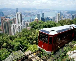 Travel to Hong Kong: Peak Tram