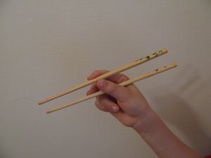 How to Eat with Chopsticks Step 2