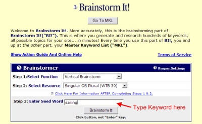 How To Start a Website - Brainstorm It