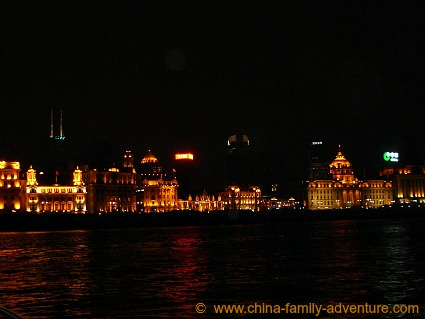 Huangpu River Cruise Night Views The Bund