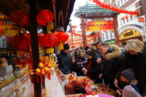 London Chinatown Lunar New Year Craft Stalls