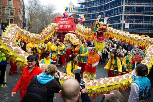 London Lunar New Year  Parade