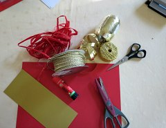 Materials for Making Chinese New Year Firecrackers