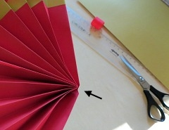 Making   Chinese Paper Fan Step 5