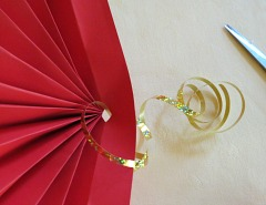Making   Chinese Paper Fan Step 6