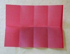 Making Square or Box Shaped Paper Lanterns Step 3