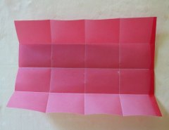 Making Square or Box Shaped Paper Lanterns Step 4