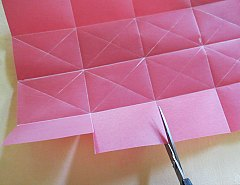 Making Square or Box Shaped Paper Lanterns Step 6
