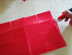 Making Square or Box Shaped Paper Lanterns Step 9