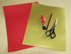 Materials for Making Chinese Paper Lantern